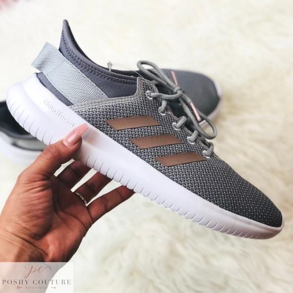 adidas cloudfoam qt flex trainers